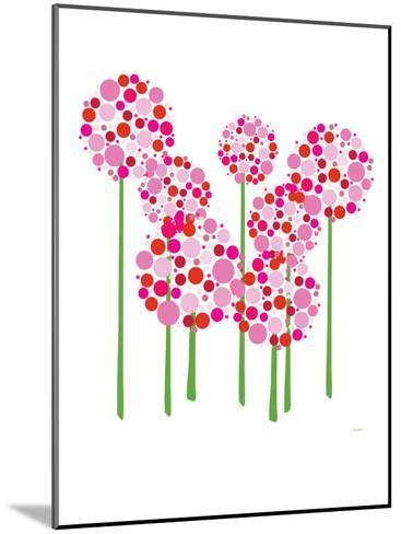 Pink Allium-Avalisa-Mounted Art Print
