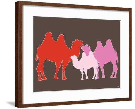 Pink Camel-Avalisa-Framed Art Print