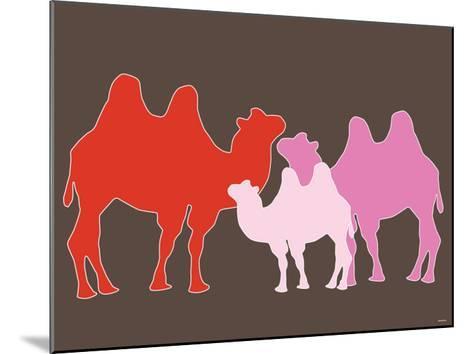 Pink Camel-Avalisa-Mounted Art Print