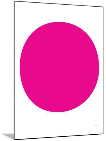 Pink Circle-Avalisa-Mounted Art Print