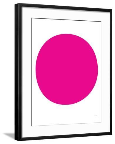 Pink Circle-Avalisa-Framed Art Print
