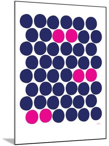 Pink Dots-Avalisa-Mounted Art Print