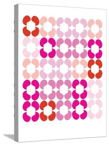 Pink Quilt-Avalisa-Stretched Canvas Print