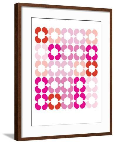 Pink Quilt-Avalisa-Framed Art Print