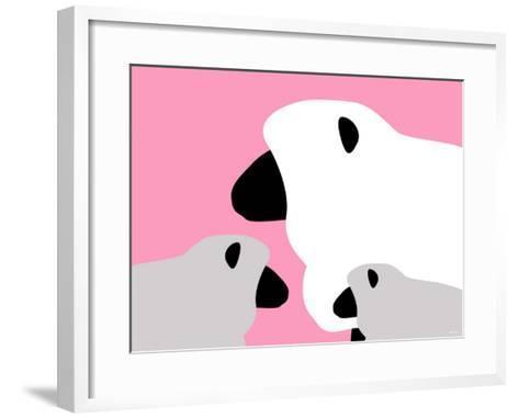 Pink Sheep-Avalisa-Framed Art Print