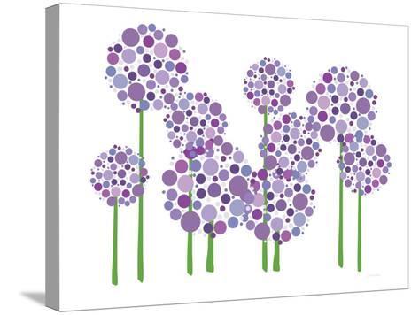 Purple Allium-Avalisa-Stretched Canvas Print