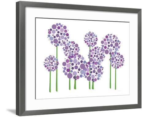 Purple Allium-Avalisa-Framed Art Print