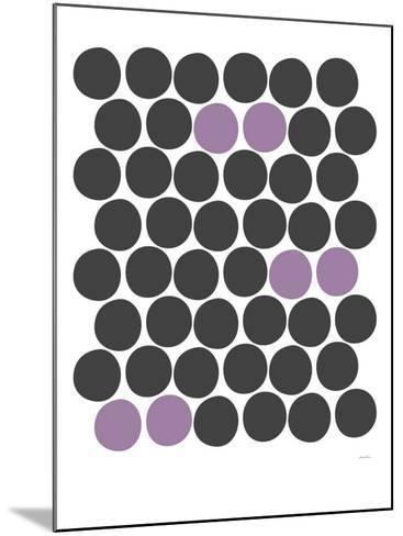 Purple Dots-Avalisa-Mounted Art Print