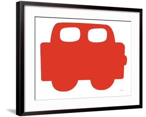 Red Car-Avalisa-Framed Art Print