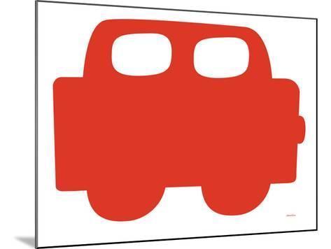 Red Car-Avalisa-Mounted Art Print