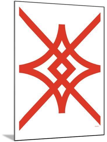 Red Diamond-Avalisa-Mounted Art Print