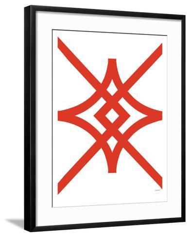 Red Diamond-Avalisa-Framed Art Print