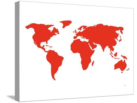 Red World-Avalisa-Stretched Canvas Print