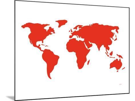 Red World-Avalisa-Mounted Art Print