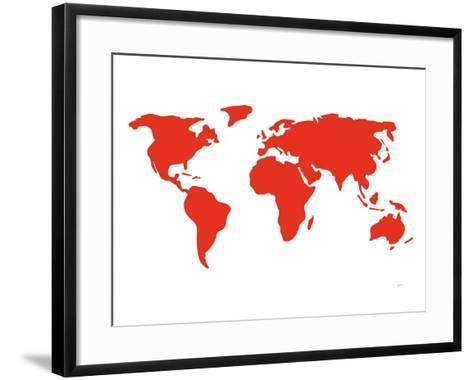 Red World-Avalisa-Framed Art Print