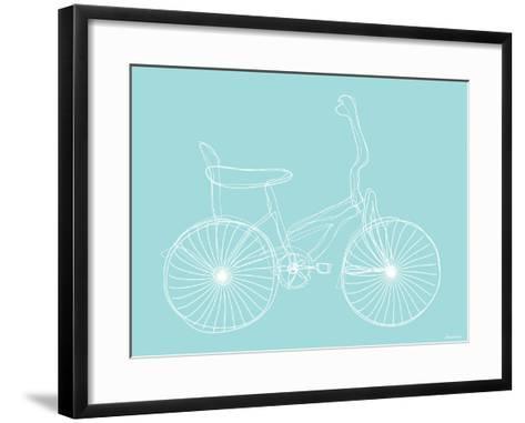 Seagreen Bike-Avalisa-Framed Art Print