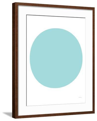 Seagreen Circle-Avalisa-Framed Art Print
