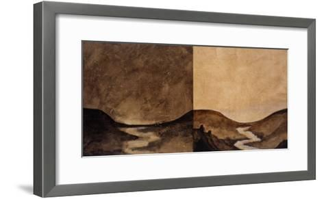 Nighttide and Dayspring-Susan Gillette-Framed Art Print