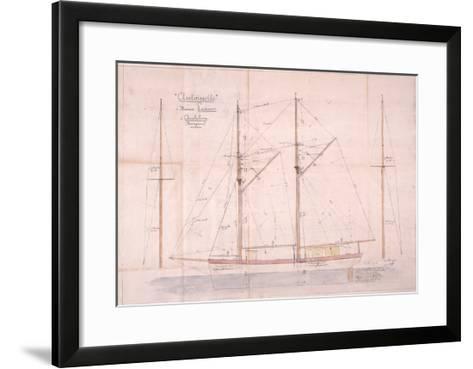 Antoinette--Framed Art Print