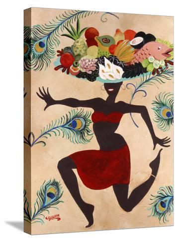Samba Mama-Susan Gillette-Stretched Canvas Print