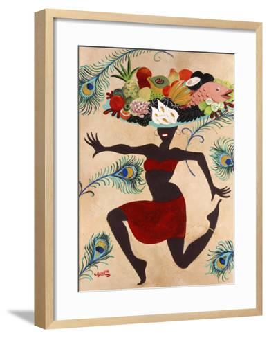 Samba Mama-Susan Gillette-Framed Art Print