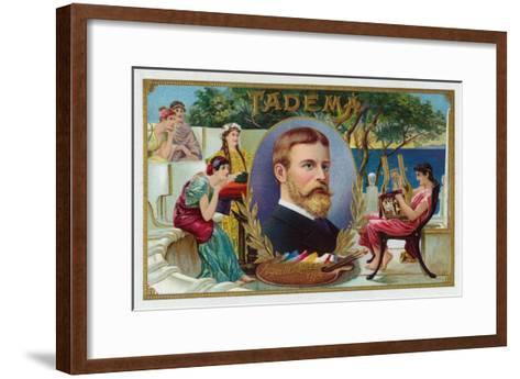 Tadema Brand Cigar Box Label-Lantern Press-Framed Art Print