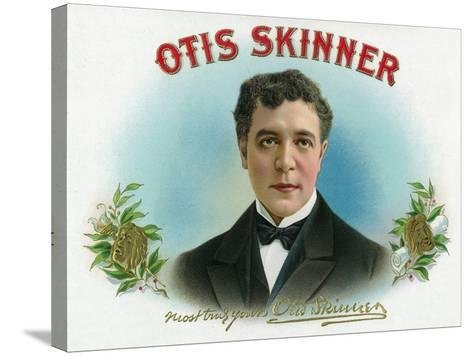 Otis Skinner Brand Cigar Box Label-Lantern Press-Stretched Canvas Print