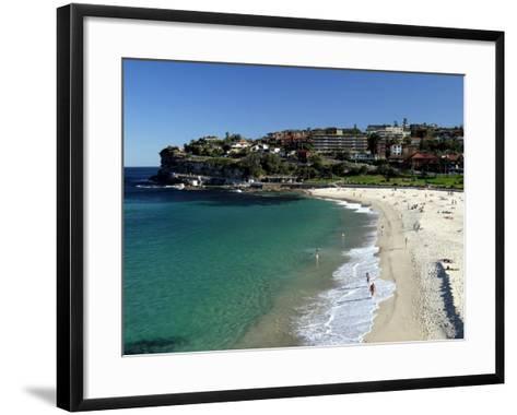 Bronte Beach, Sydney, Australia-David Wall-Framed Art Print