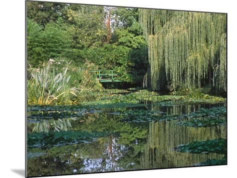 Claude Monet's Garden Pond in Giverny, France-Charles Sleicher-Mounted Photographic Print