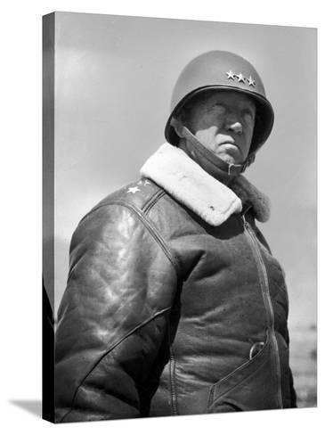 General George S. Patton During World War II--Stretched Canvas Print