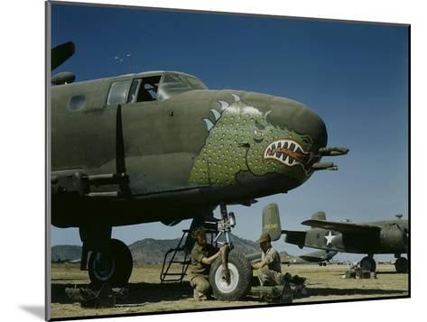 B-24's in Australia-George Silk-Mounted Photographic Print