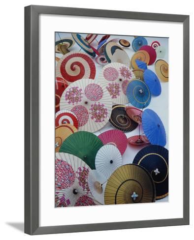 Japanese Imports: Umbrellas-Eliot Elisofon-Framed Art Print