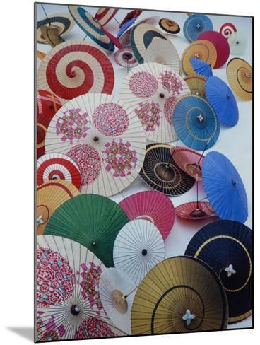 Japanese Imports: Umbrellas-Eliot Elisofon-Mounted Photographic Print