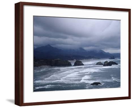 Pacific Ocean Along the Coast of Oregon-Eliot Elisofon-Framed Art Print