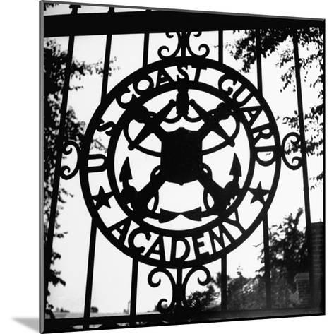 The Us Coast Guard Academy Gate-William C^ Shrout-Mounted Photographic Print