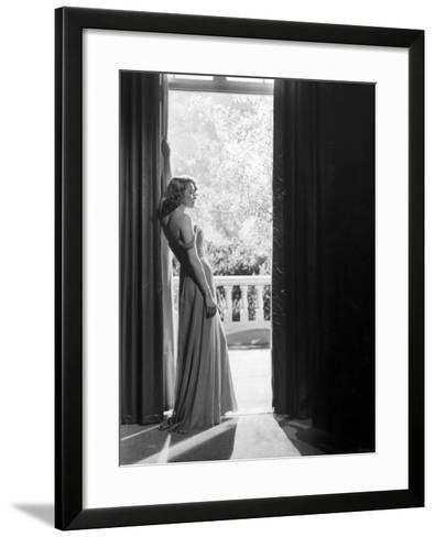 """Actress Patricia Neal in """"The Fountainhead""""-Allan Grant-Framed Art Print"""