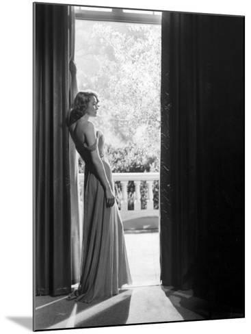 """Actress Patricia Neal in """"The Fountainhead""""-Allan Grant-Mounted Premium Photographic Print"""