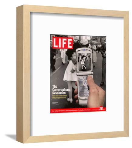 VJ Day, January 28, 2005- Davies & Starr-Framed Art Print