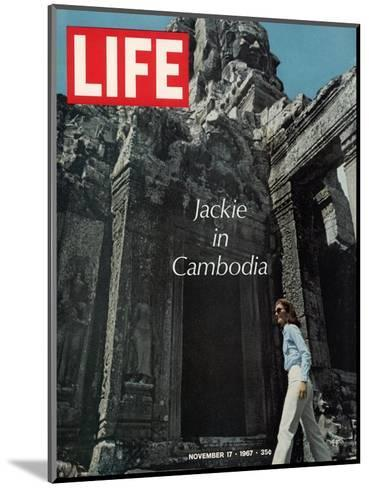 Jacqueline Kennedy in Cambodia, November 17, 1967-Larry Burrows-Mounted Photographic Print