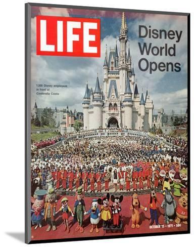 Disney World Opens, October 15, 1971-Yale Joel-Mounted Premium Photographic Print