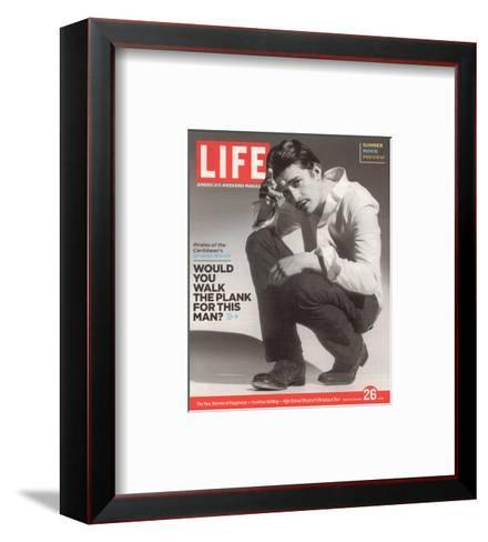 Portrait of Actor Orlando Bloom, May 26, 2006--Framed Art Print