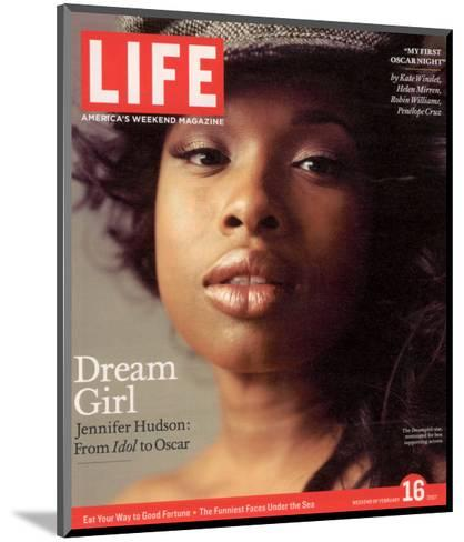 Portrait of Academy Award Nominee Jennifer Hudson, February 16, 2007-Peggy Sirota-Mounted Photographic Print