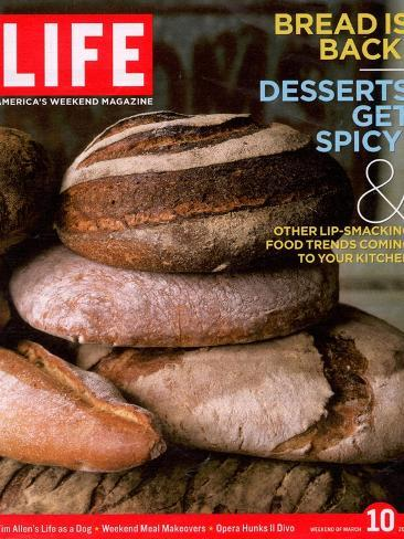 Loaves of Bread, March 10, 2006- Gentl & Hyers-Stretched Canvas Print
