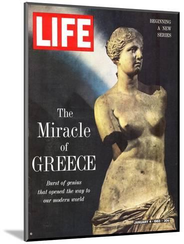 The Miracle of Greece, Statue of Aphrodite, January 4, 1963-Gjon Mili-Mounted Photographic Print
