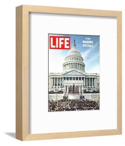President Johnson's Inaugural, January 29, 1965-John Dominis-Framed Art Print