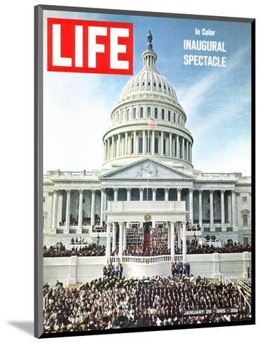 President Johnson's Inaugural, January 29, 1965-John Dominis-Mounted Photographic Print