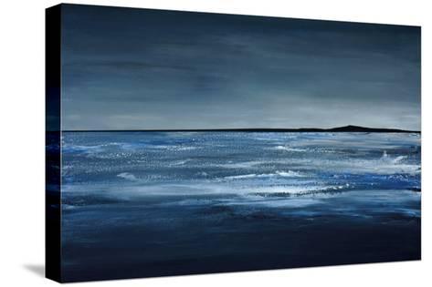 Blue Horizon-Earl Kaminsky-Stretched Canvas Print