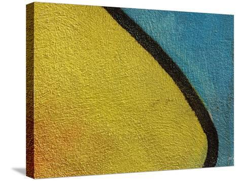 Close-Up of Abstract and Colorful Graffiti--Stretched Canvas Print