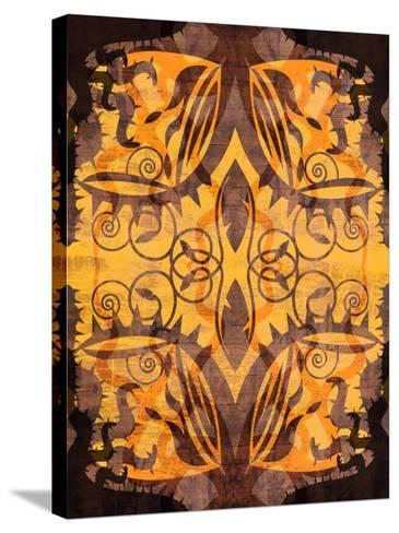 Colorful and Intricate Symmetrical Patterns--Stretched Canvas Print