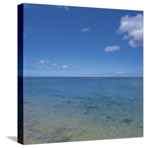 Beautiful and Peaceful View of the Sea--Stretched Canvas Print